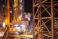 Jack Up Oil Rig (Drilling Rig) Royalty Free Stock Photos - 60999018