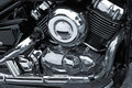 Motorcycle Chrome Engine Royalty Free Stock Image - 6101806