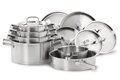 Stainless Steel Pots Stock Photos - 61004293
