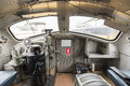 Driver Cabin Of A Diesel Locomotive Royalty Free Stock Photo - 61011105