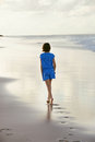 Walking On Beach Royalty Free Stock Images - 61018169