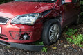 Wrecked Car Royalty Free Stock Photo - 61019215