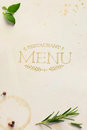 Art Traditional Italian Home Restaurant Menu Background Royalty Free Stock Photography - 61032717