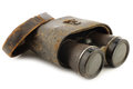 Old Binoculars With A Case Royalty Free Stock Photography - 61034157