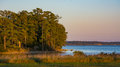 James River Sunset Royalty Free Stock Photo - 61037765