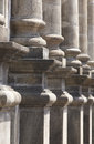 Classical Stone Columns On A Chuch Entrance Portico Royalty Free Stock Photos - 61063888