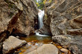 Autumn View Of Chasm Falls - Horizontal Stock Images - 61087034