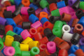 Plastic Beads Colors Royalty Free Stock Photos - 61091978