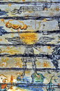 Ancient Mural Fresco In Romania Royalty Free Stock Photo - 61092895