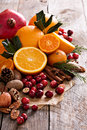 Fall And Winter Ingredients Still Life Stock Photos - 61094183