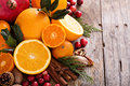 Fall And Winter Ingredients Still Life Royalty Free Stock Image - 61094326