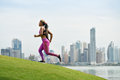 Woman Running And Working Out At Morning In The City Royalty Free Stock Image - 61101036