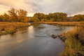 Provo River Fall Landscape In Heber Valley. Royalty Free Stock Image - 61103376