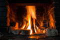 Fireplace Stock Image - 61114021