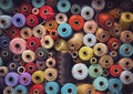 Sewing Thread Stock Image - 61132911