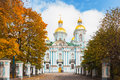 St. Nicholas Naval Cathedral In St. Petersburg, Russia Royalty Free Stock Photo - 61159935