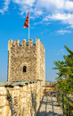 Tower Of The Skopje Fortress Stock Photos - 61161803