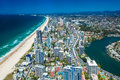 GOLD COAST, AUS - OCT 04 2015: Aerial View Of The Gold Coast In Stock Image - 61173501
