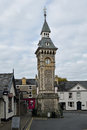 Clock Tower, Hay-on-Wye, Powys, Wales Royalty Free Stock Image - 61181066