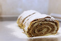 Homemade Strudel With Walnuts Royalty Free Stock Images - 61196639