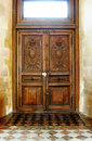 Old Wooden Door Stock Photos - 6125653