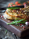 Grilled Pork Chop Stock Photography - 61213482
