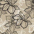 Seamless Floral Pattern Stock Photography - 61241652