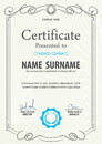 Certificate Template,vector Illustration Royalty Free Stock Images - 61245589