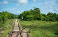 Train Tracks Stock Images - 61253084