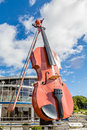 Giant Violin In Sydney Royalty Free Stock Photo - 61257625