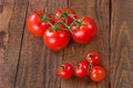 Tomatoes. Cherry Tomatoes. Cocktail Tomatoes. Fresh Tomatoes On Royalty Free Stock Images - 61292039