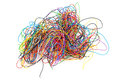 Tangled Wires. Royalty Free Stock Photography - 61299967