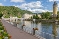 View Of The Spa Town Bad Ems At The River Lahn In Germany Stock Photo - 61315910