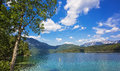 Amazing Sunny Summer Day On The Hintersee Lake Stock Images - 61323604