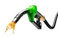 Gasoline Gushing Out From Pump Stock Images - 61329484