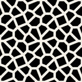 Vector Seamless Black And White Geometric Lace Pavement Pattern Stock Image - 61341041