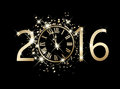 2016 New Year Card Stock Image - 61344671