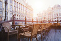 Cafe In Brussels Royalty Free Stock Photography - 61381697