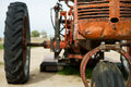 Front End Of A Tractor Stock Photos - 61383693