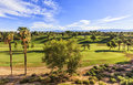 View To The Golf Club In Palm Springs, California Royalty Free Stock Photo - 61389815