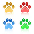 Paw Prints Royalty Free Stock Photo - 6142635
