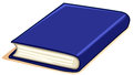Thick Book With Blue Cover Stock Photography - 61400122