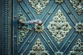 Rustic Ancient Doors Pattern Medieval Repetitive Ornaments Stock Photo - 61411460