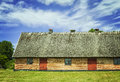 Thatched Roof Barn Stock Photography - 61411932