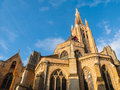 Medieval Church Of Our Lady In Bruges Royalty Free Stock Photos - 61411958