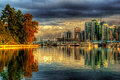 Vancouver Skyline Royalty Free Stock Photo - 61419175