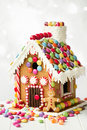 Gingerbread House Royalty Free Stock Photography - 61423177