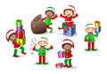 Stock Colored Cartoon Dwarf Elf Stock Images - 61432494