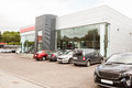 Outside View Of Car Dealership Stock Images - 61439874