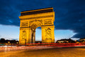 Arch Of Triumph, Paris Royalty Free Stock Photography - 61447717